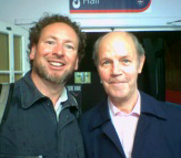 Brian Cant with Puppeteer Marcus Clarke