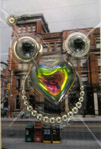 Gladstone Hotel. Parrot by Marcus Clarke
