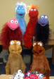Training Puppets used in TV Puppeteering Workshops by               Marcus Clarke