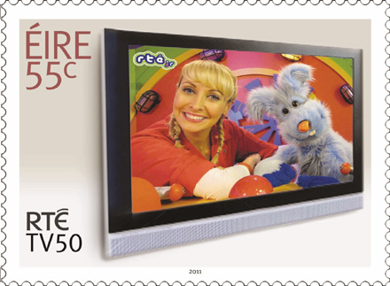 puppet on stamp