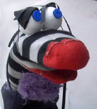 Pirate Sock                                                   Puppet