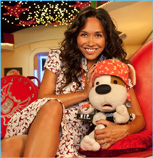 Marcus Clarke and Myleene Klass on                             Bookaboo