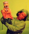 Marcus Clarke Puppeteering Green Screen